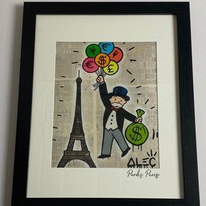 Alec Monopoly Framed Wall Art , hype